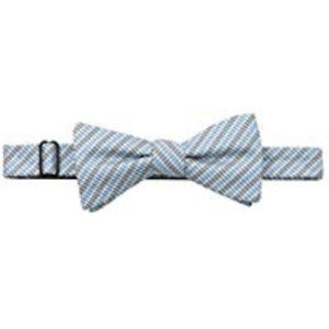 Vince Camuto Bow Tie Blue Striped